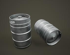 3D model Beer Keg PBR Game Ready