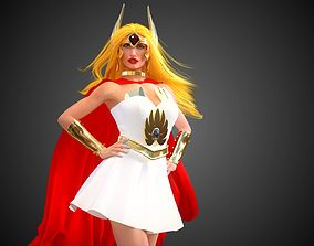 3D animated SheRa And SwiftWind