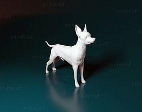 Toy terrier 3D print model