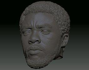3D print model Chadwick Boseman Black Panther T Challa