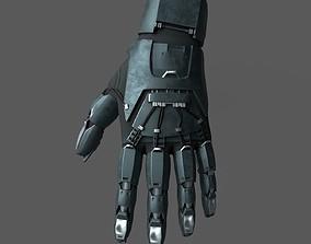 3D asset Scifi glove warior