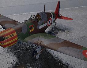 3D model Morane Saulnier Ms-406 C1