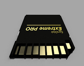 SD Card Realistic 3D pc