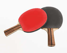Table Tennis Paddle 3D