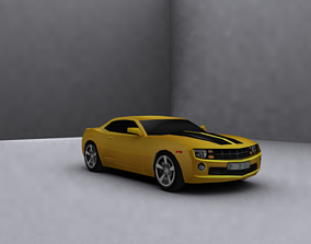 Low Poly Game Ready chevy camaro 3D model