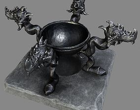 Witch Cauldron 3D model
