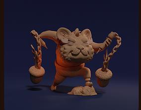3D print model Fire Hamster