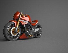 3D Kawasaki Ninja Naked modified