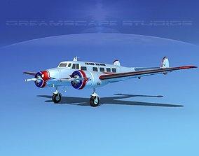 3D model Lockheed L10 Electra Trans-Island