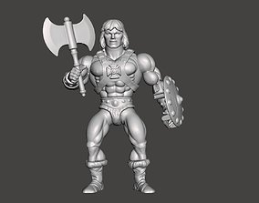 HE-MAN MOTU ACTION FIGURE ORIGINS 3D printable model