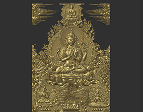 Tibetan Buddhas 3D printable model