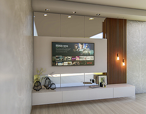3dnikmodels TV Wall 10 - Sketchup