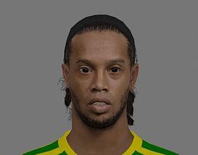3D asset Ronaldinho