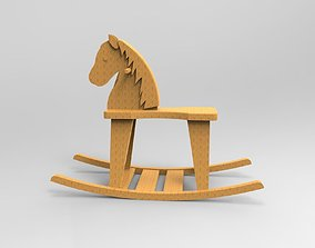 horse toy 3D printable model