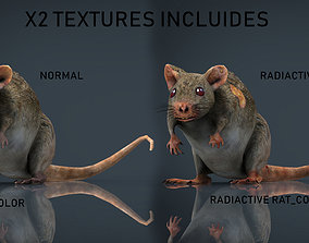 RADIACTIVE RAT 3D asset