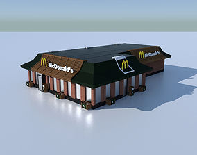 McDonalds Restourant 3D model realtime