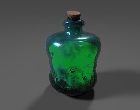 Green Potion 3D model