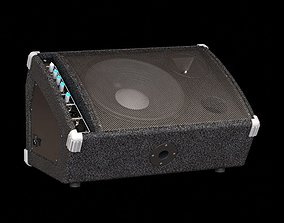 3D model Adjustable Portable Loudspeaker