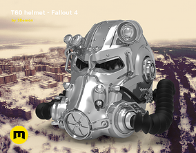 3D printable model T60 Helmet Fallout 4