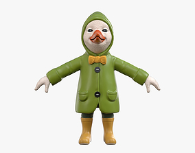 3D model Duckling in a Raincoat