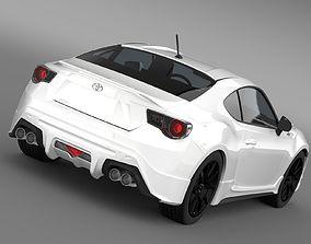 TRD Toyota 86 2013 3D