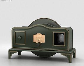 3D model set Baird Televisor