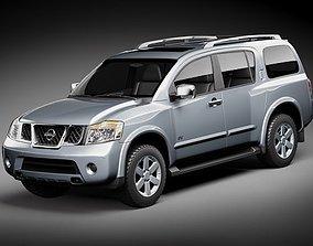 Nissan Armada - Pathfinder 3D