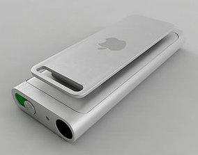 3rd Generation iPod Shuffle 3D model apple