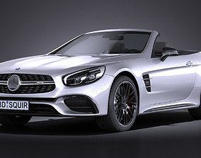 Mercedes-Benz SL 63 AMG 2017 3D model