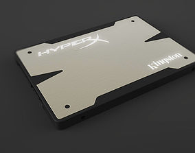3D model Kingston HyperX 3K SSD