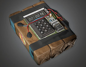 3D asset Explosive Device 1 BHE - PBR Game Ready