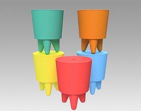 Bubu Philippe Starck armchair 3D model
