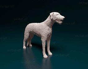 Irish wolfhound 3D printable model