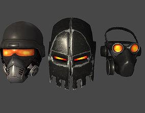 3D model Masks Pack Soldier