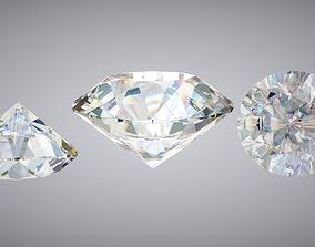 3D asset realtime PBR Diamond