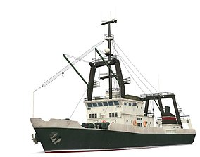 3D asset Trawler S