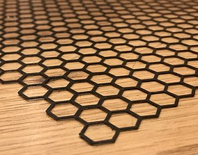 3D printable model Honeycomb mat