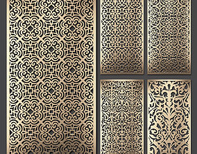 Decorative panel set 62 3D