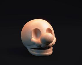 3D print model Super Mario Skull