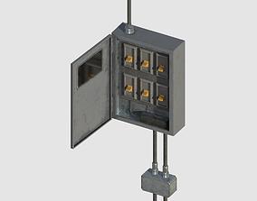 3D model realtime Fuse Box