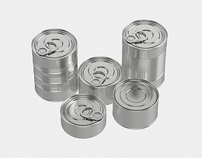 3D Canned Food