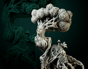 3D print model Living Tree pre-supported