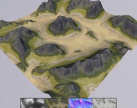 Terrain MT013b 3D