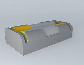3D Loaded Battery carrier