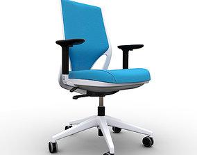 Sillas Oficina Efit Chair 3D