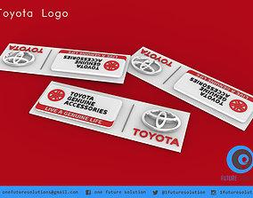 3D printable model Toyota Logo