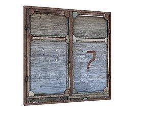 Factory Building 02 Doors 01 3D asset