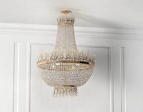 3D model Bird Chandelier feather