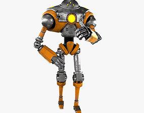 Cartoon Robot 2 3D model