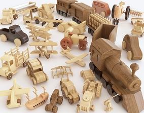 Wooden toy vol 07 3D model